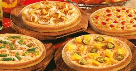 Veg Double Pizza Mania