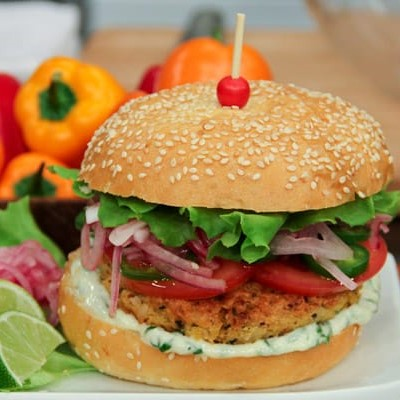 Potato Veggie Burger