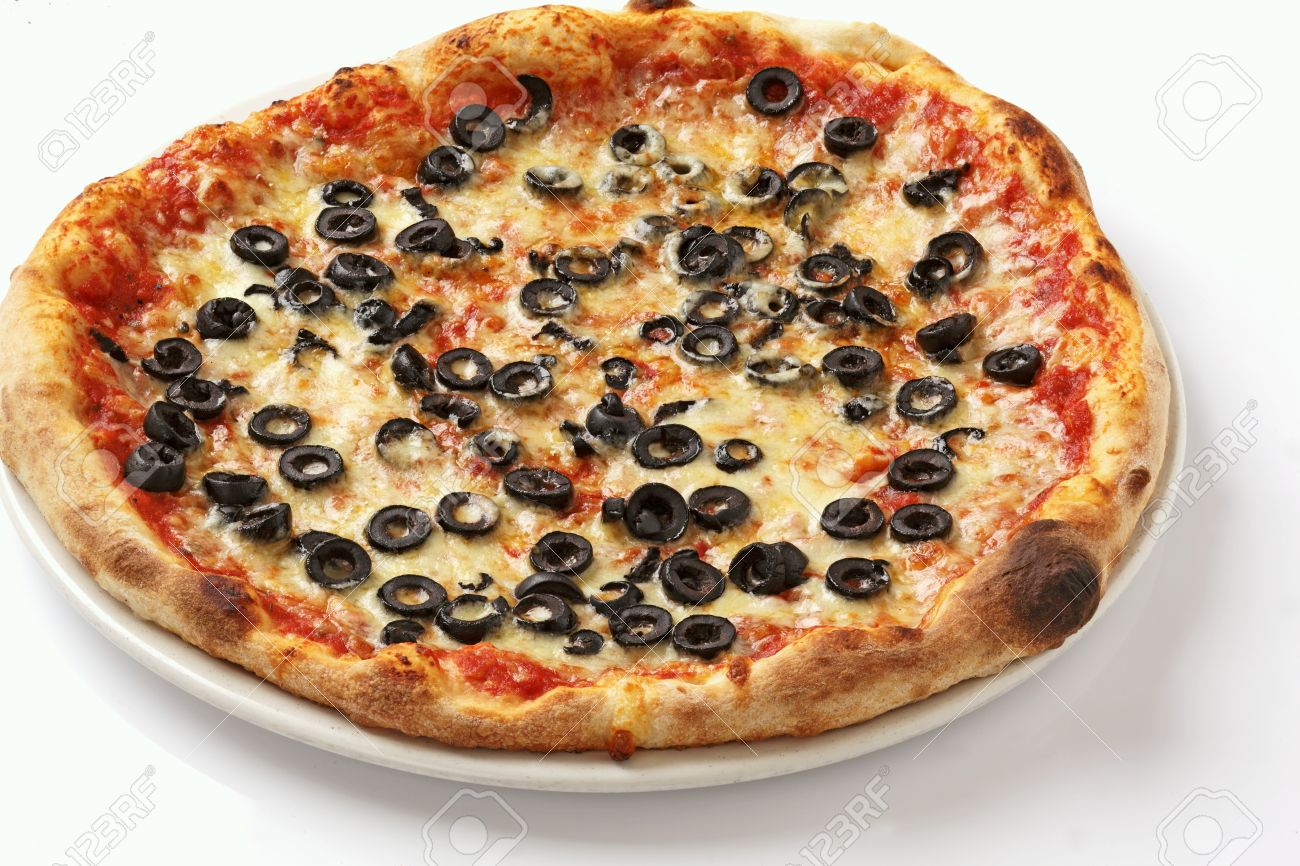 Black Olives Pizza