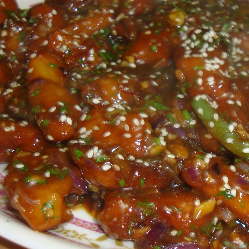 Honey Chilli Potato