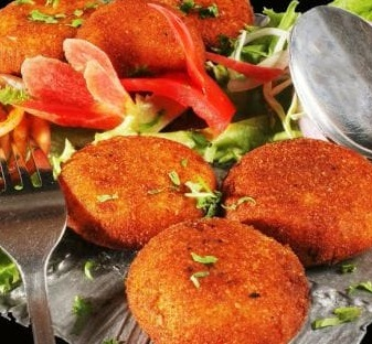 Crispy Tikki Salad