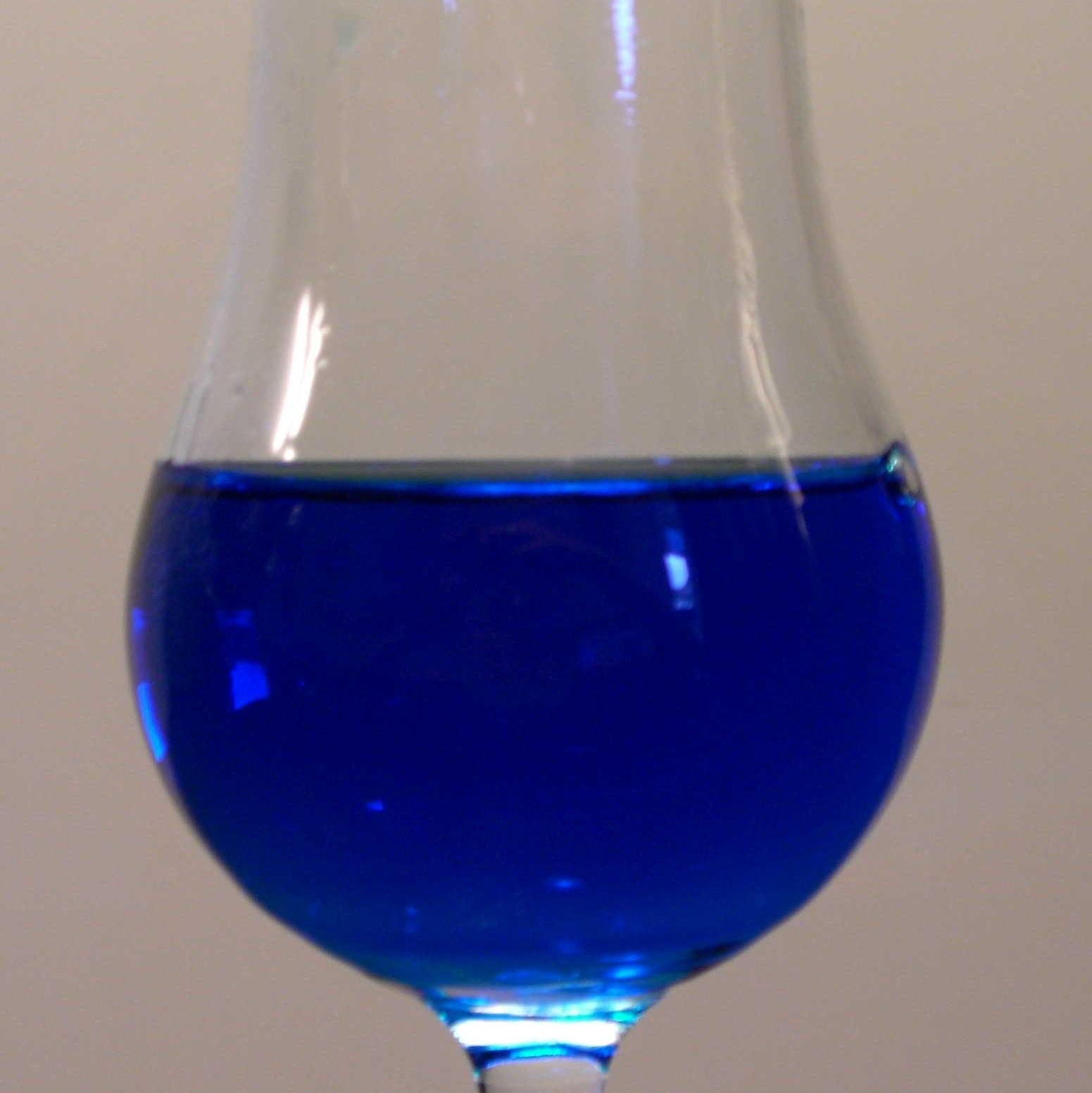 Curacao Bleu Mojito
