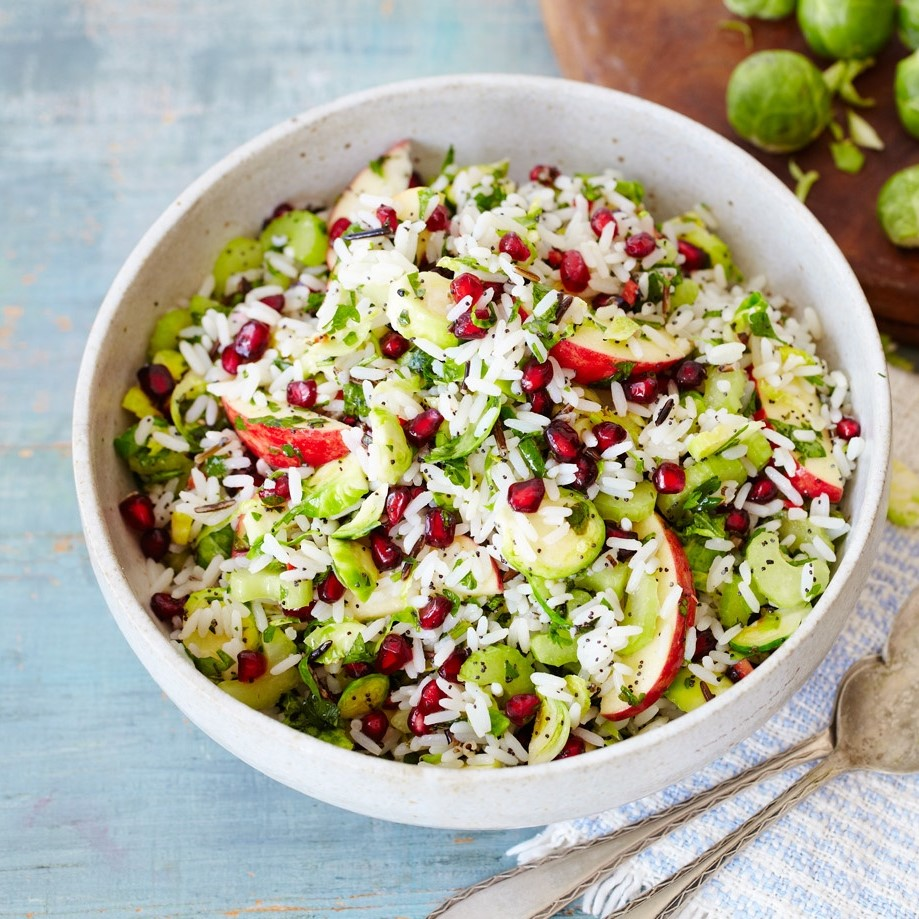 Sprout Rice Salad