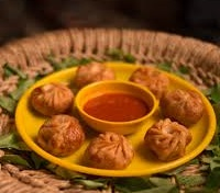 Red Curry Momos