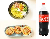 Poha With 600 ML Coke