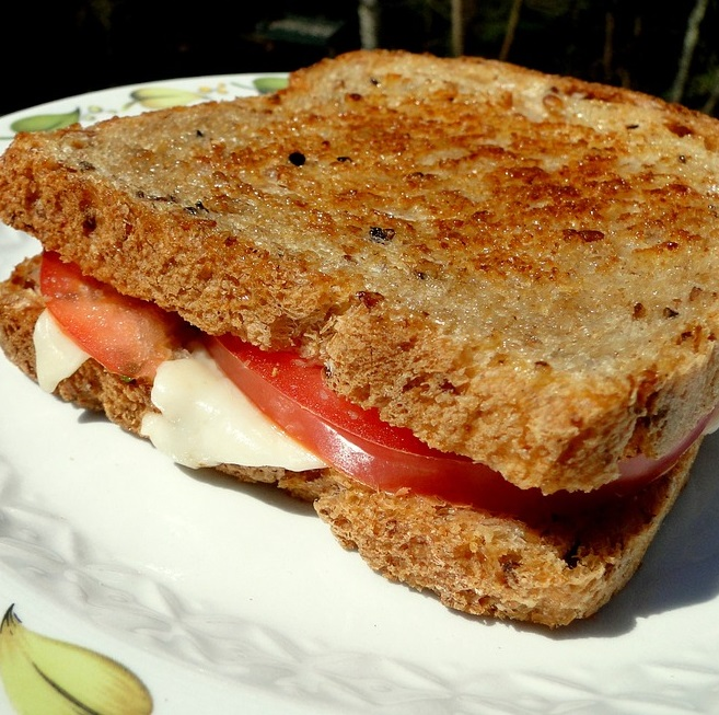 Vegetable & Cheese Sandwich