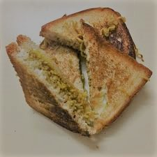Maggi Cheese Grilled Sandwich