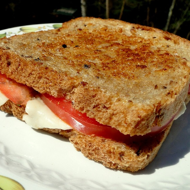 Tandoori Grilled Sandwich