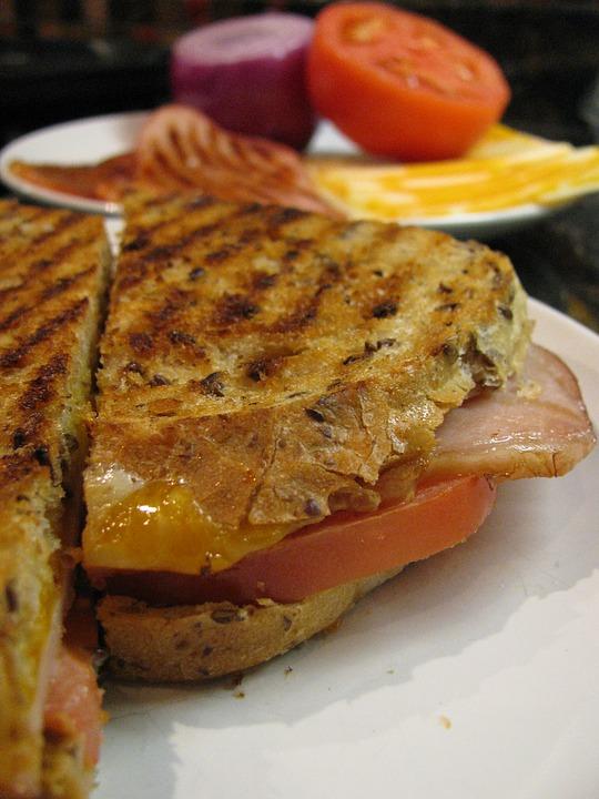 Onion  Capsicum  Grilled Sandwich