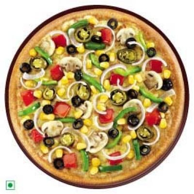 Onion Tomato Capsicum Pizza