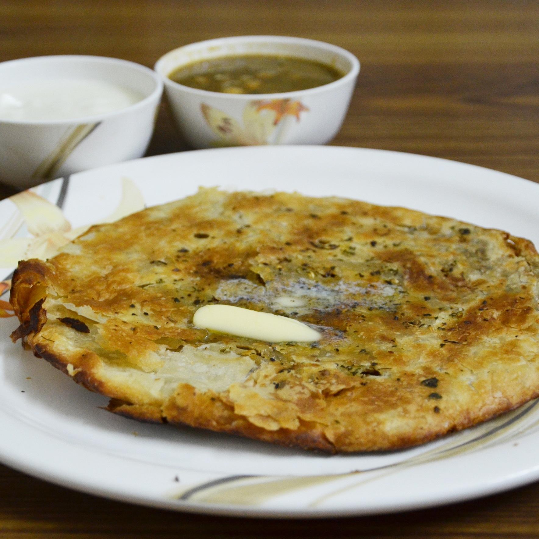 Amritsari Kulcha with Chana
