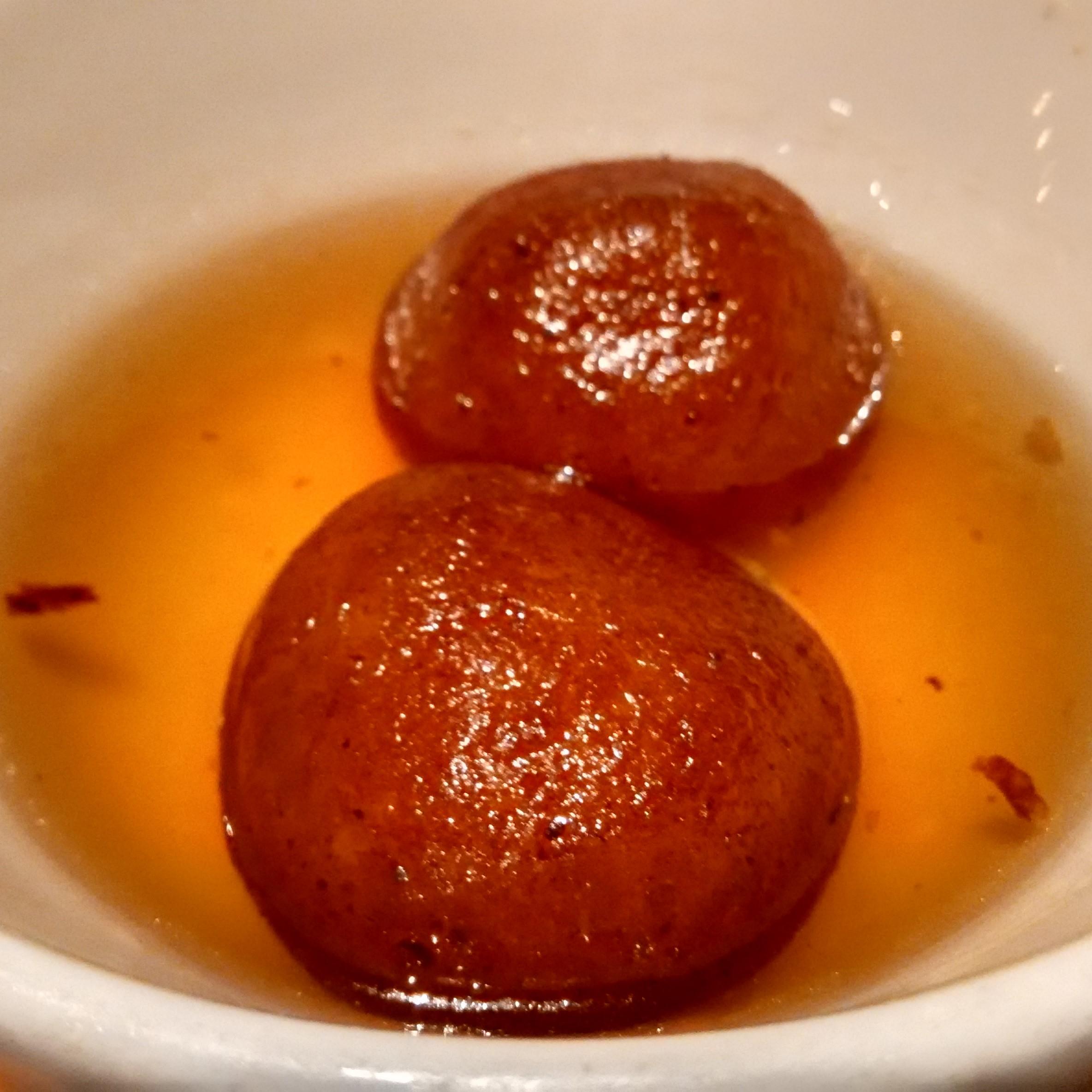 Hot Gulab Jamun
