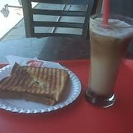 Sandwich with Cold Coffee