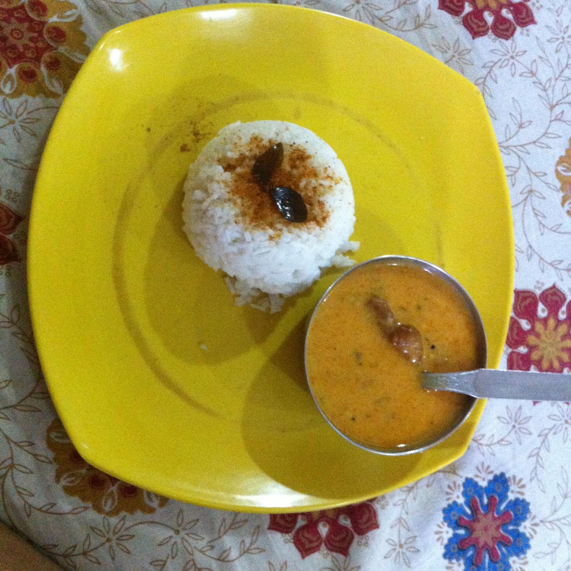 Kadhi Rice Desi Ghee Fry