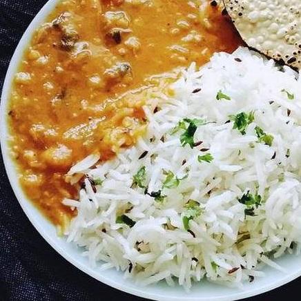 Dal Rice Desi Ghee