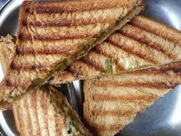 Brown Bread Grilled Sandwich