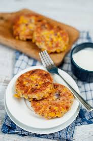 Sweetcorn Patties
