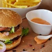 Paneer Maharaja Burger