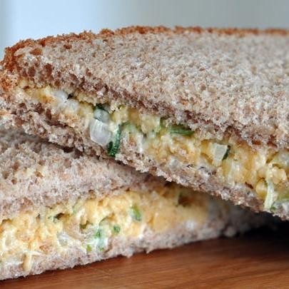 Cheese Onion Sandwich