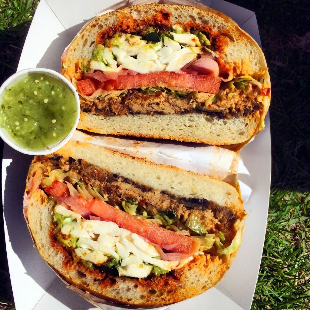 Veg. Mexican Sandwich