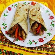 Veg. Mexican Wrap