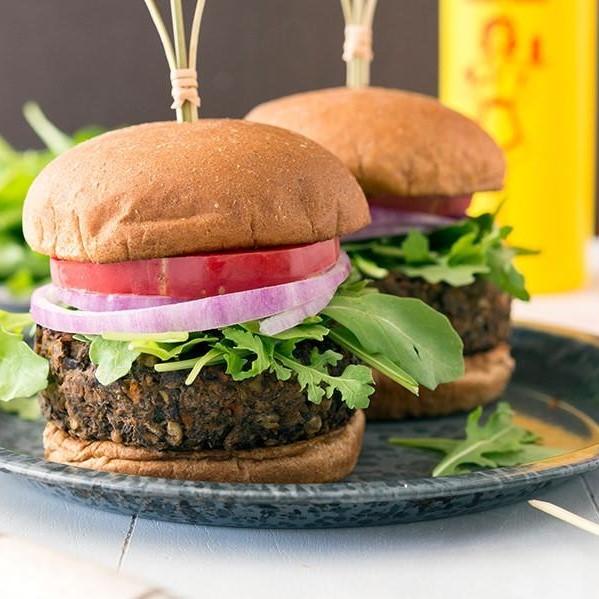 Triple Grilled Tikki Burger
