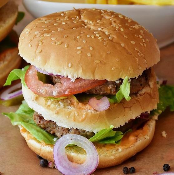 Double Grilled Tikki Burger