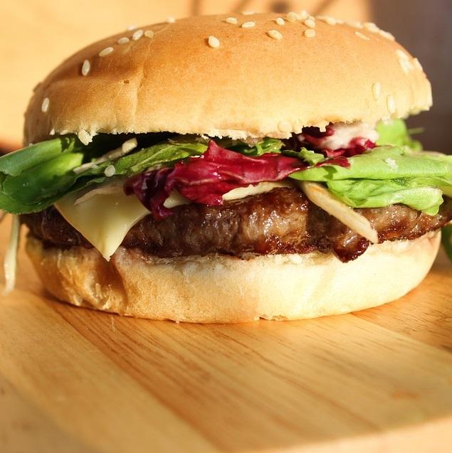 Veg. Chilli Lava Burger