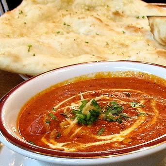 Shahi Paneer + 1 Naan / Lacha Parantha