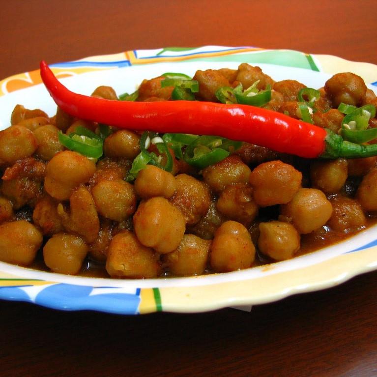 Chana Chilly (Dry/Gravy)
