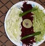 Cream Kachumber Salad