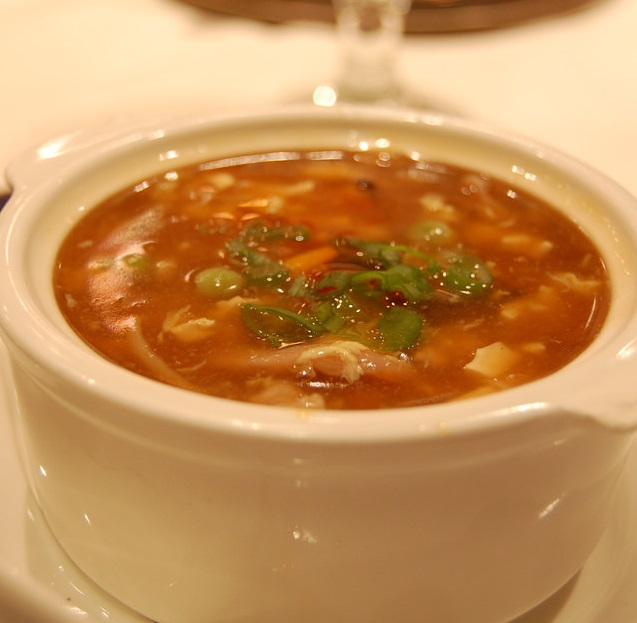 Hot 'N' Sour Soup Veg.