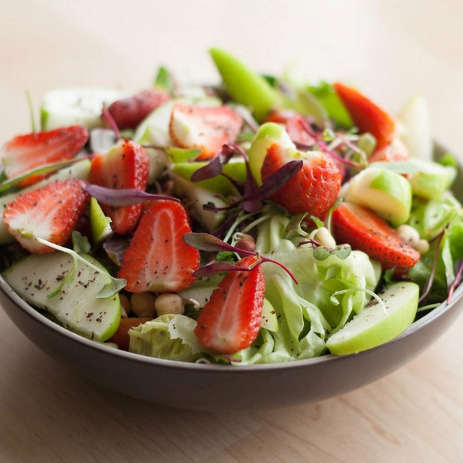 Tossed Green Salad (Vinaigrettle Dressing)