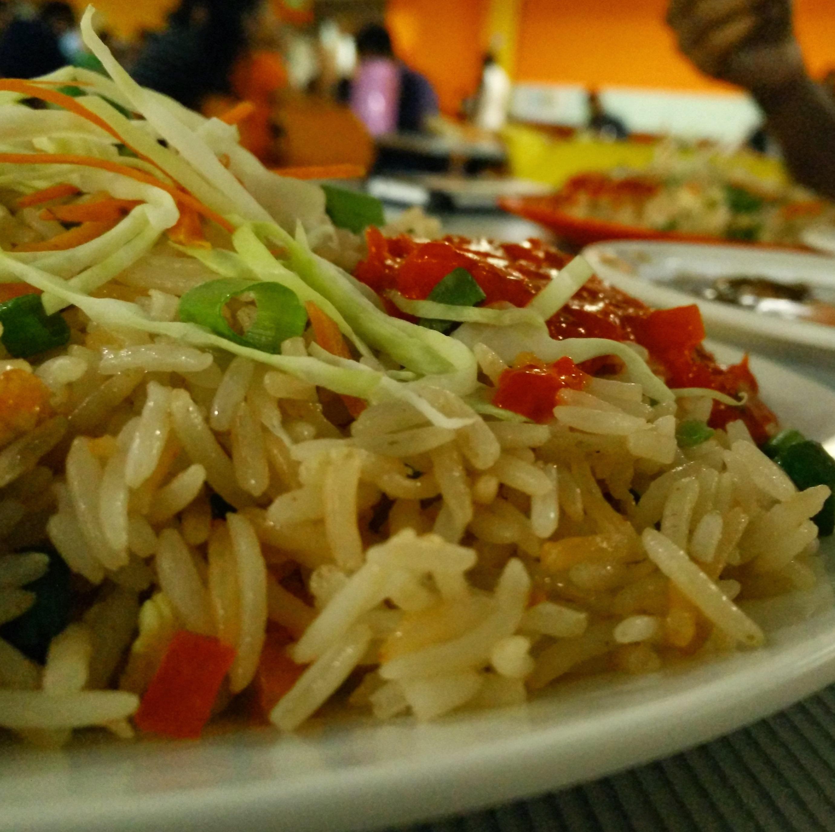 Veg. Garlic Fried Rice