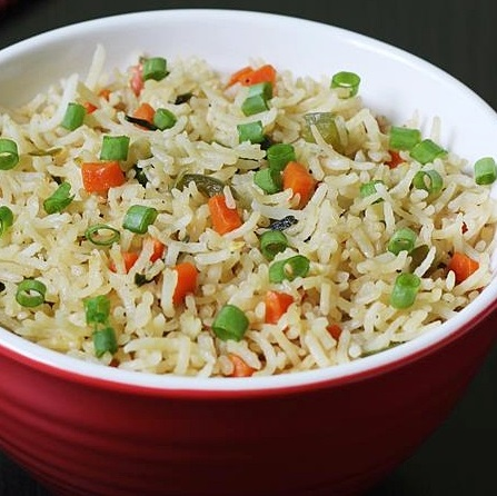 Peas & Cheese Pulao