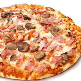 Mushroom & Olives Baby Corn Pizza