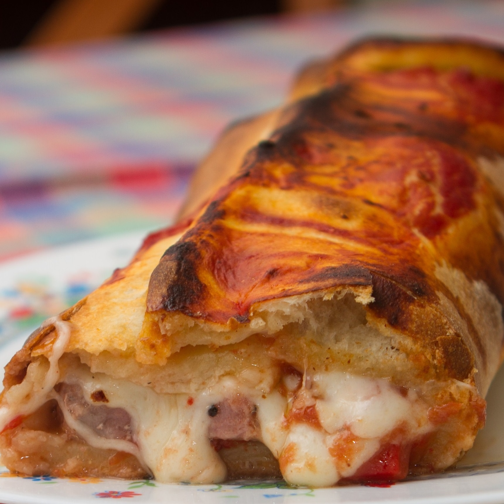 Onion & Cheese Calzone