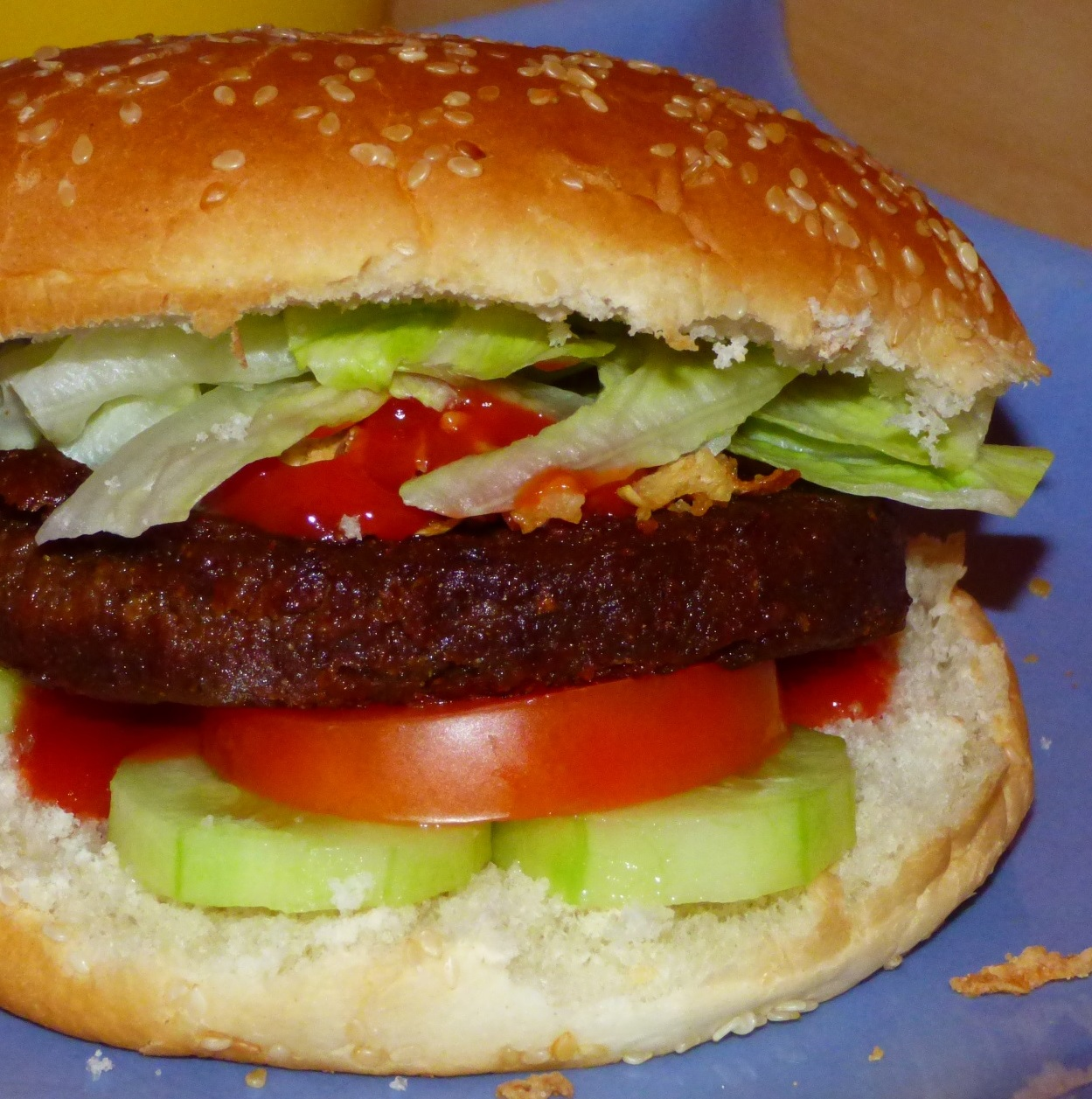 Spicy Veggie Burger