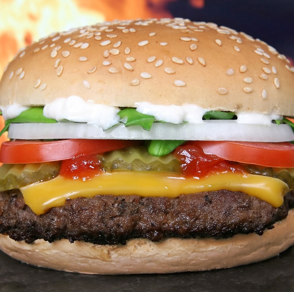 Cheese Cream Burger