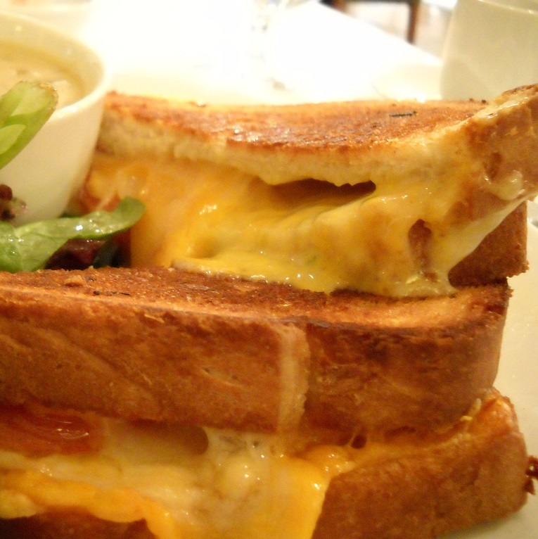 Cheese + Corn Sandwich