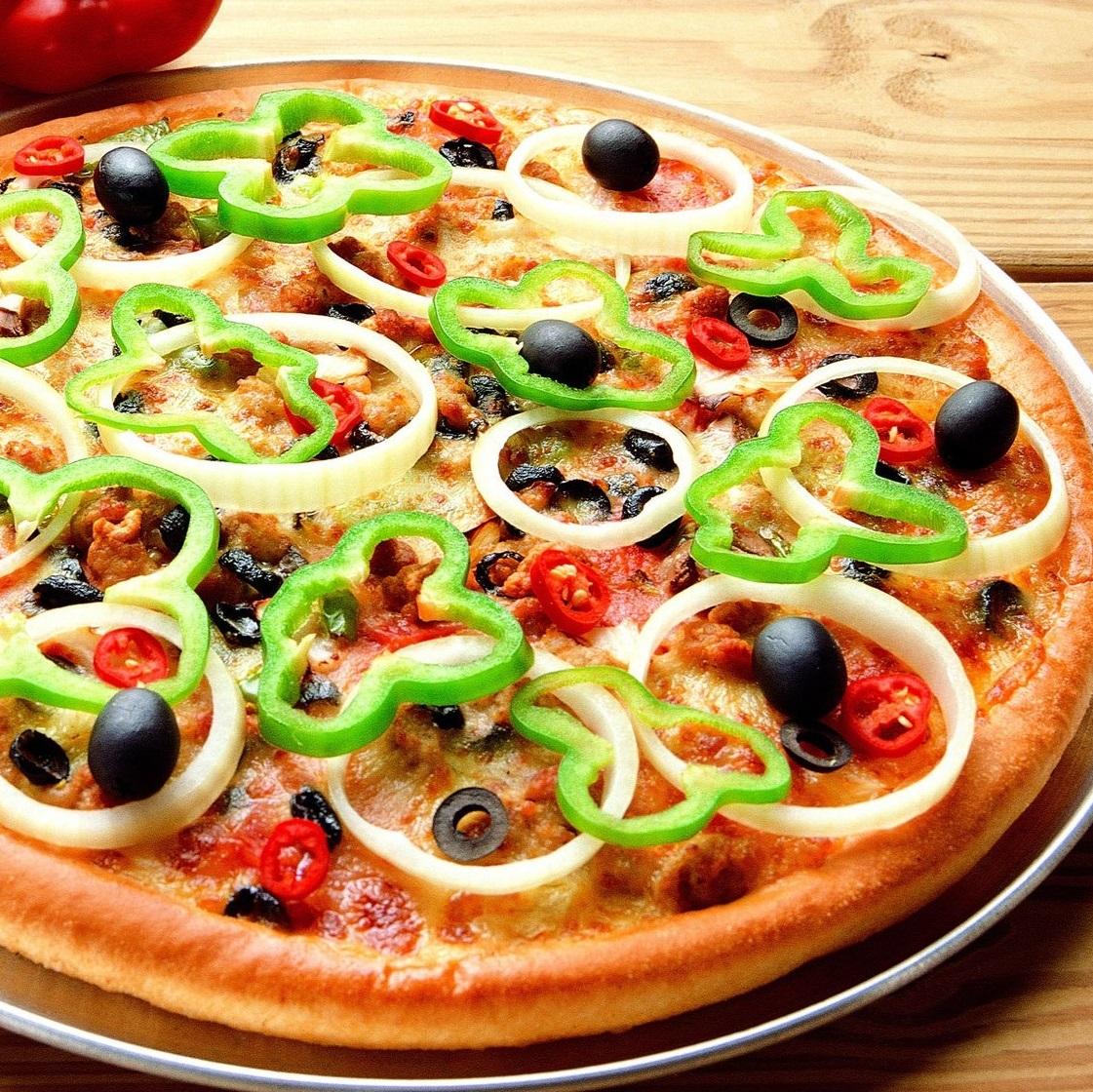 Veg Stack Pizz