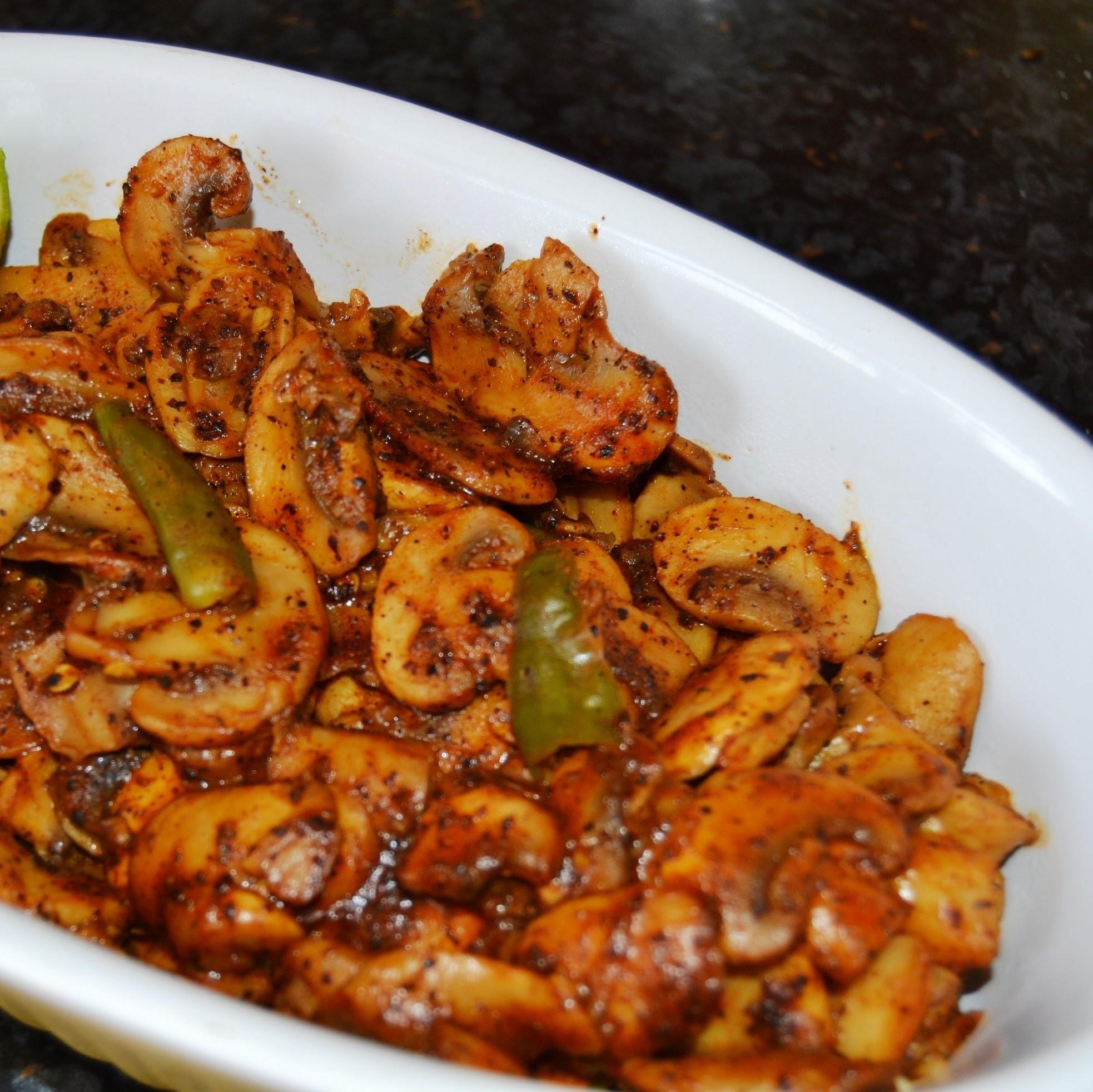 Mushroom Achari
