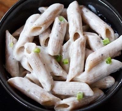 White Sauce Veg. Pasta