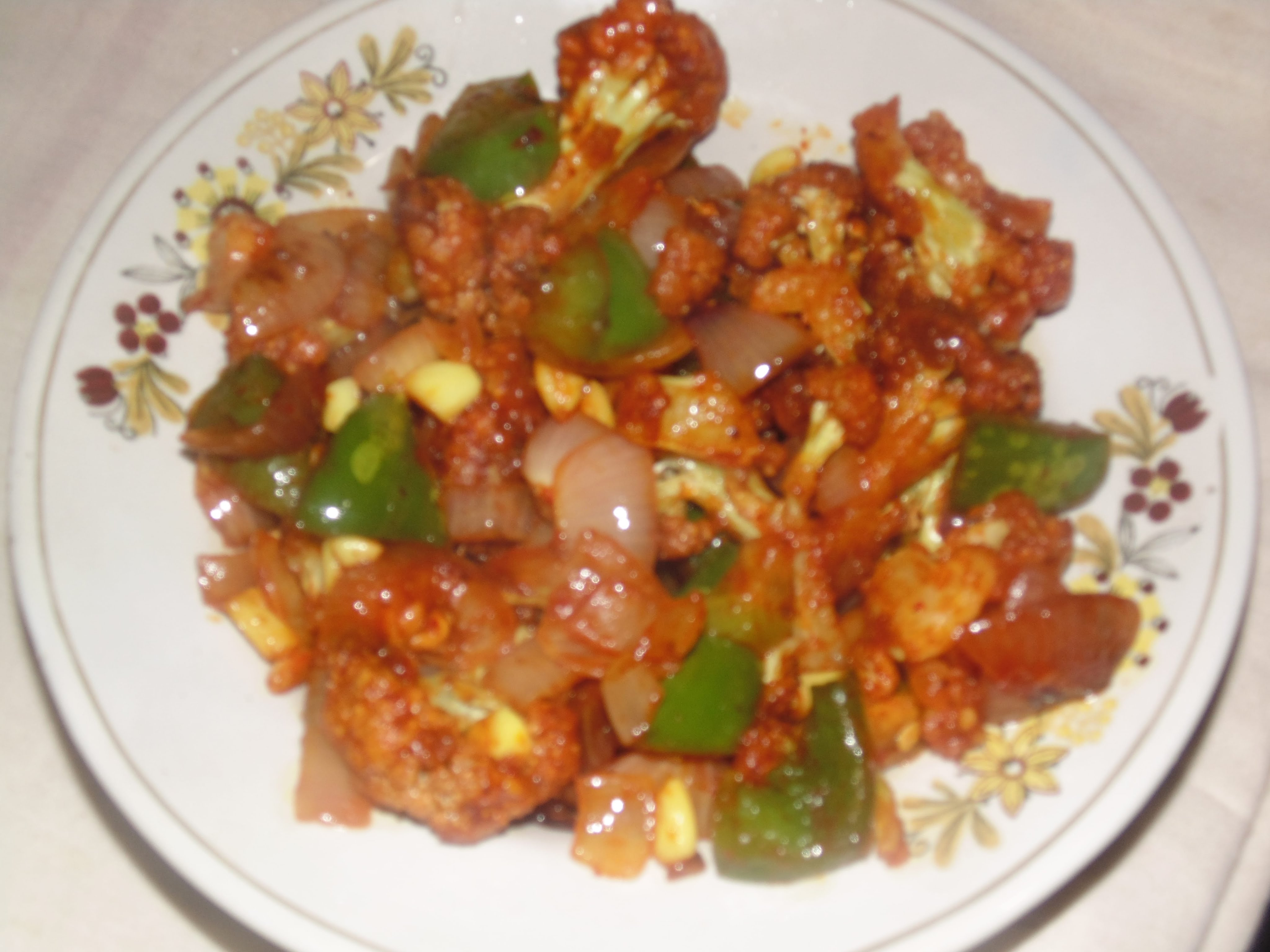 Honey Chilli Gobi