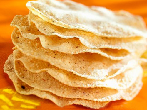 Fry/roasted Papad