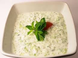 Garlic Mint Raita