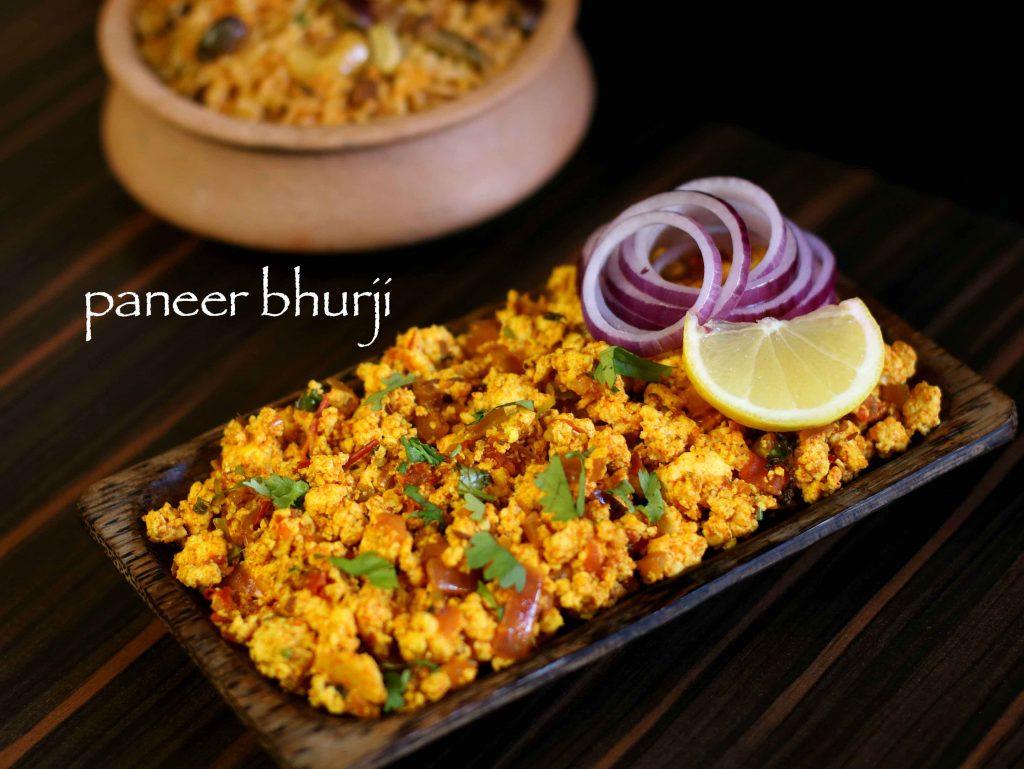 Paneer Bhurji