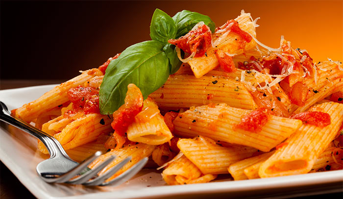 Red Sauce Veg. Pasta