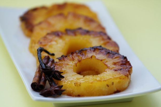 Pineapple Roasted