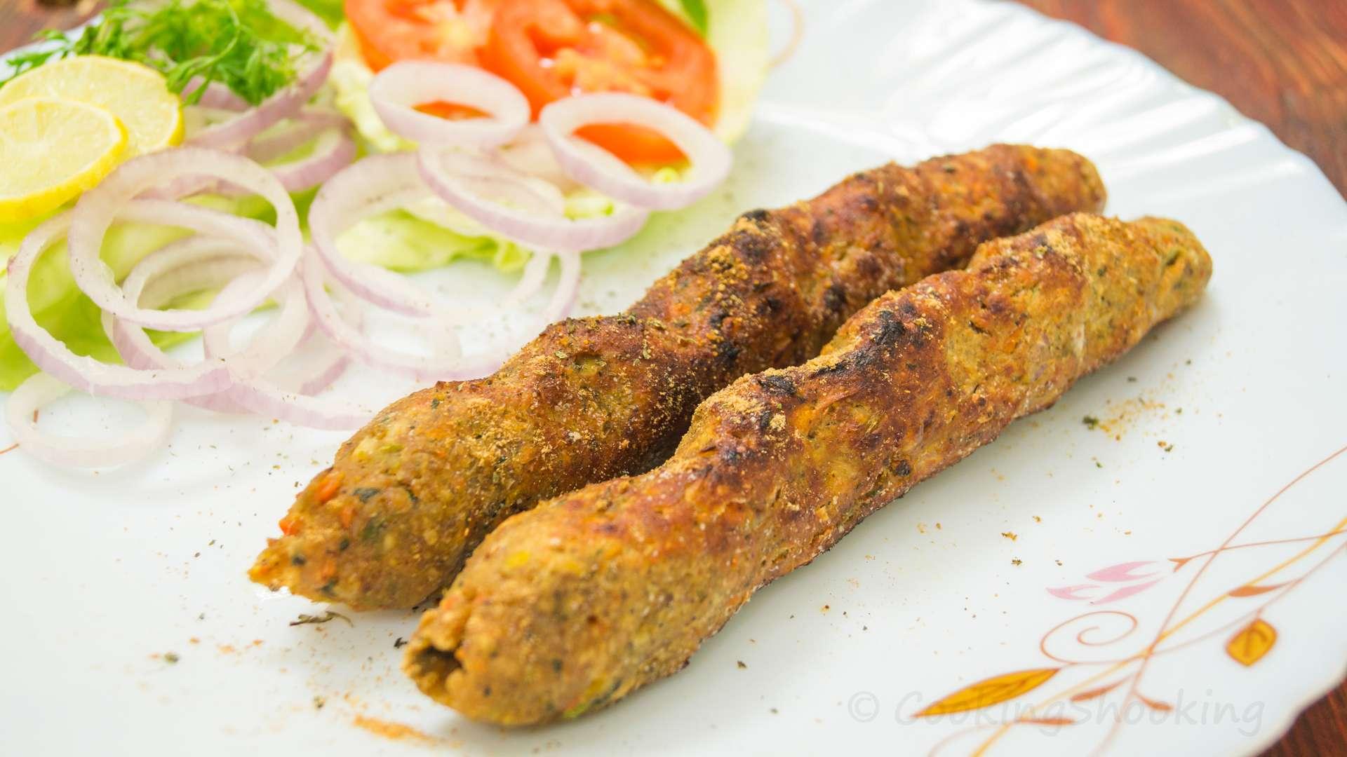 Veg. Seekh Kabab